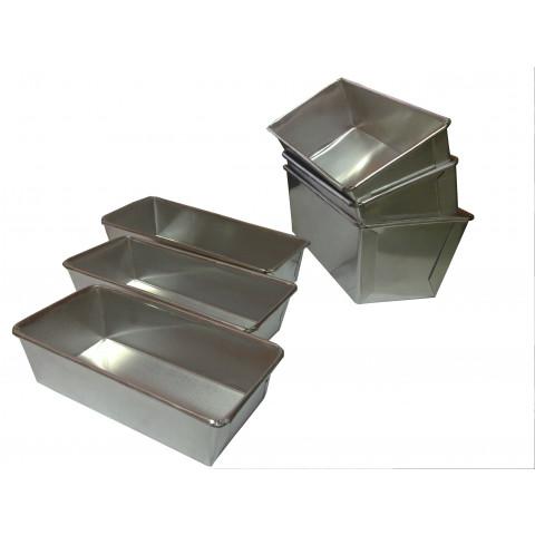 Forma bolo ingles pequena 16x7x5 cm (Aluminio)