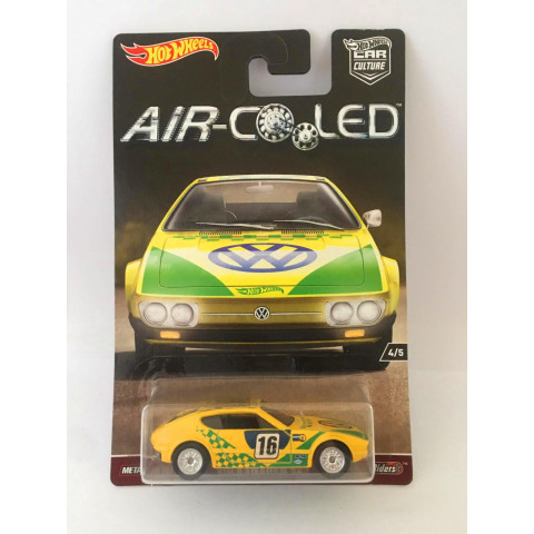Hot Wheels - Volkswagen SP2 Amarelo - Air Cooled