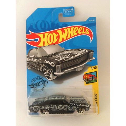 Hot Wheels - 64 Buick Riviera Preto - Mainline 2019 - Exclusiva Lojas Kroger