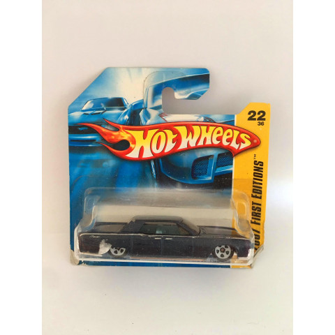 Hot Wheels - 1964 Lincoin Continental Azul - Mainline 2007