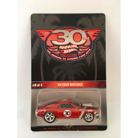 Hot Wheels - 69 Ford Mustang - Finale Car - Los Angeles 30th Annual Collectores Convention