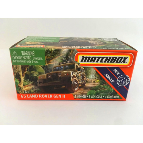 Matchbox - 65 Land Rover Gen II Verde - Power Grabs - Básico 2020