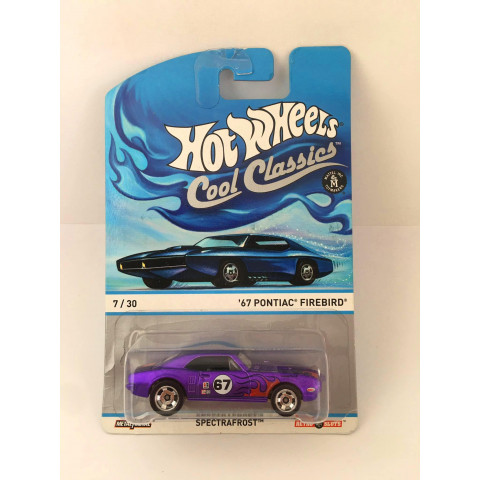 Hot Wheels - 67 Pontiac Firebird Roxo - Cool Classics