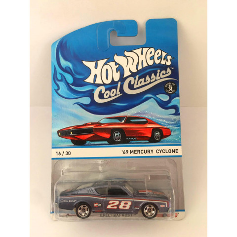Hot Wheels - 69 Mercury Cyclone Cinza - Cool Classics
