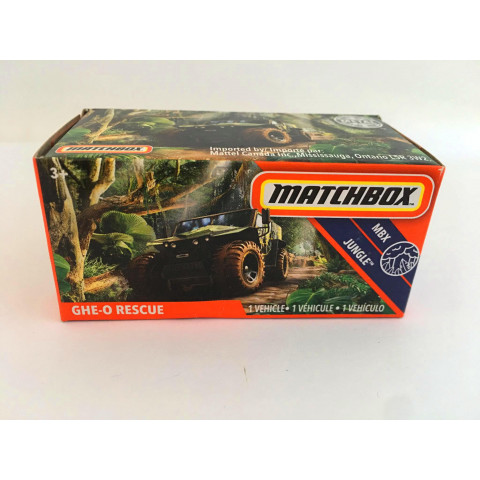 Matchbox - Ghe-o Rescue Verde - Power Grabs - Básico 2020