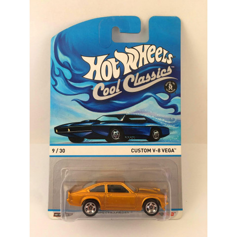 Hot Wheels - Custom V-8 Vega Dourado - Cool Classics