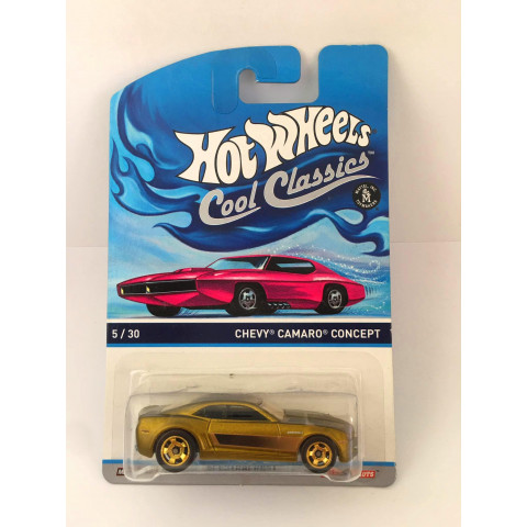 Hot Wheels - Chevy Camaro Concept Dourado - Cool Classics