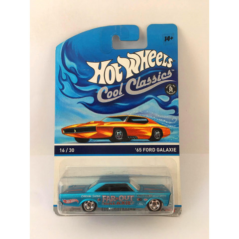 Hot Wheels - 65 Ford Galaxie Azul - Cool Classics