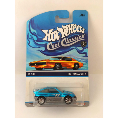 Hot Wheels - 85 Honda CR-X Azul - Cool Classics