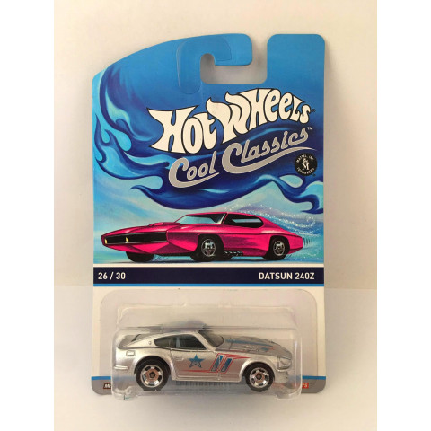 Hot Wheels - Datsun 240Z Cinza - Cool Classics