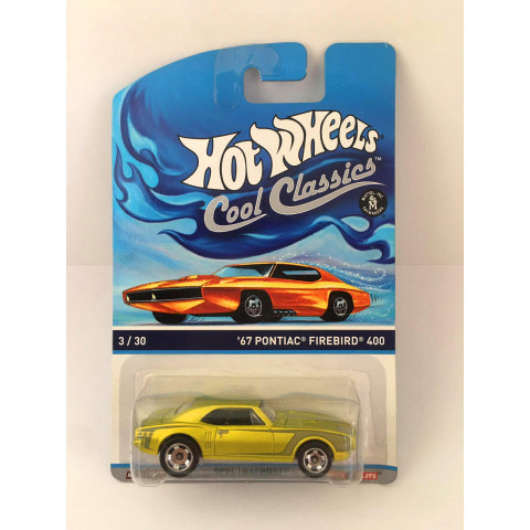 Hot Wheels - 67 Pontiac Firebird 400 Verde - Cool Classics
