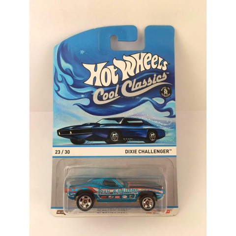 Hot Wheels - Dixie Challenger Azul - Cool Classics