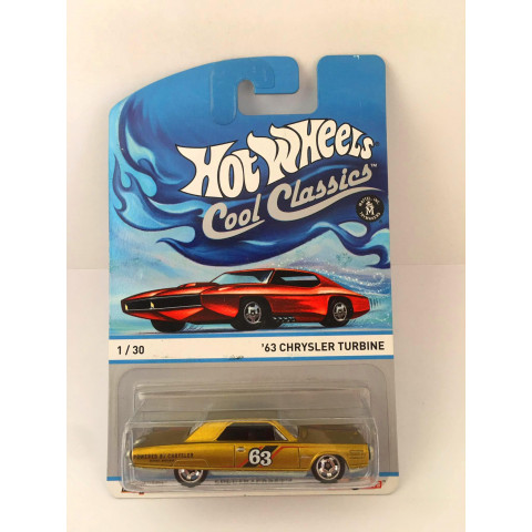 Hot Wheels - 63 Chrysler Turbine Dourado - Cool Classics