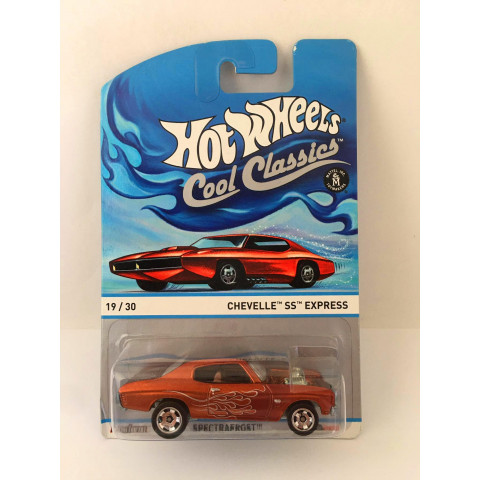 Hot Wheels - Chevelle SS Express Laranja - Cool Classics