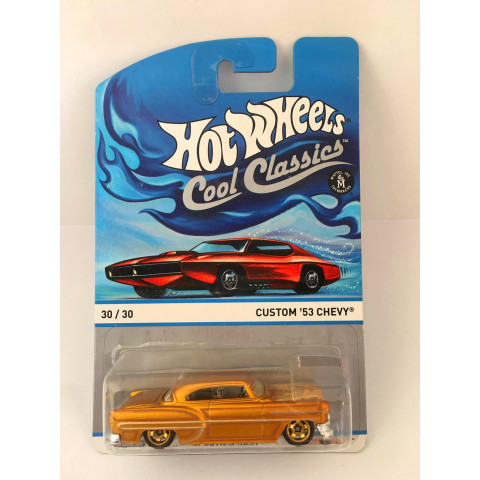 Hot Wheels - Custom 53 Chevy Dourado - Cool Classics