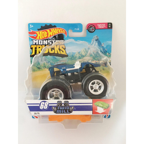 Hot Wheels - Twin Mill Azul - Monster Trucks