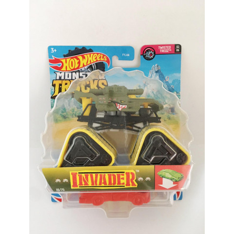 Hot Wheels - Invader Verde - Monster Trucks