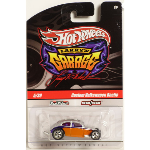 Hot Wheels - Custom Volkswagen Beetle Laranja - Garage