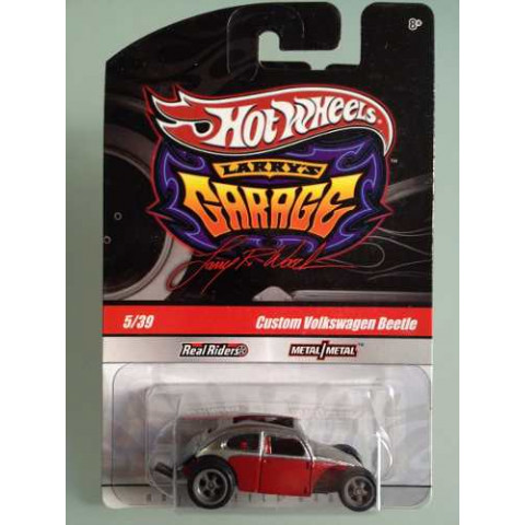 Hot Wheels - Custom Volkswagen Beetle Marrom - Garage