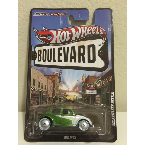 Hot Wheels - Volkswagen Beetle Verde - Boulevard