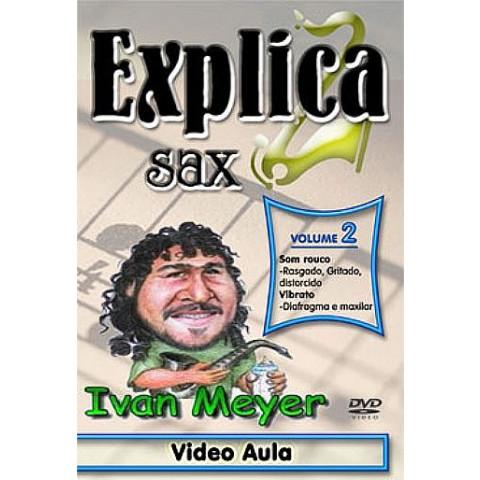 Vídeo Aula de Sax em DVD Vol.02- Som Rouco e Vibratos (Iniciantes e intermediários)