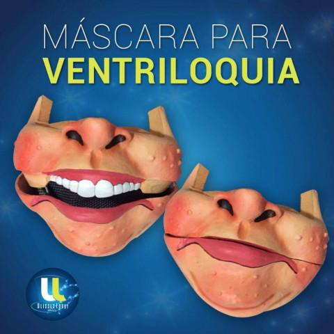 Mascara de Ventriloquia Masculina