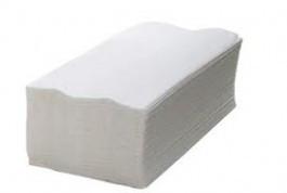 Papel toalha interfolha 2 dobras, tamanho de 23 x 21, Fardo com 1000 folhas