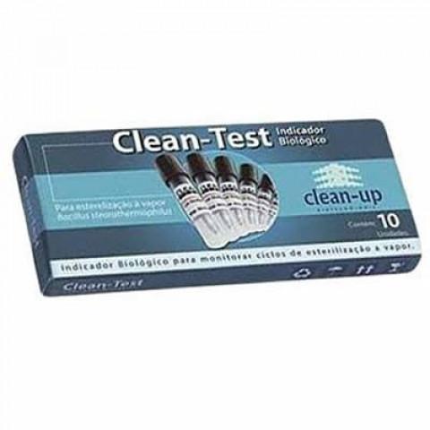 INDICADOR BIOLÓGICO CLEAN TEST C/10 AMPOLAS - CLEAN UP