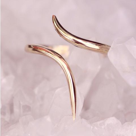 Anel Flow (banho ouro)