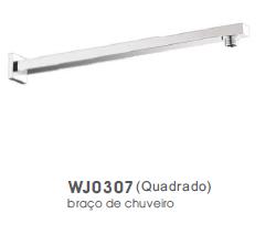 ACESS. BRAÇO QUADRADO PAREDE WJ0307