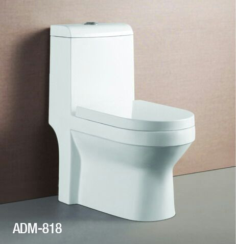 Bacia Monobloco SAFIRA 818 Branca - c/ Assento Incluso