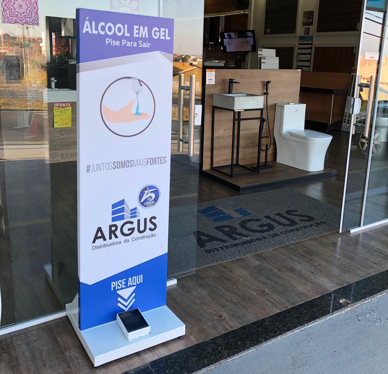 Dispenser de Álcool Gel