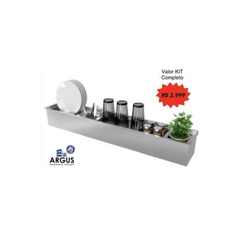 Kit Canal Úmido - Debacco 1050x164mm (Completo)