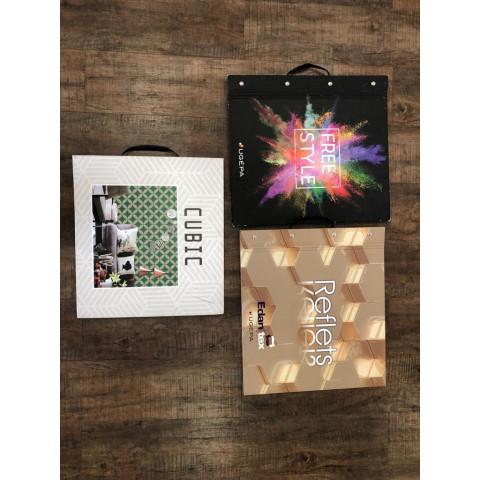 KIT 3 BOOKS - CUBIC, FREESTYLE E REFLETS