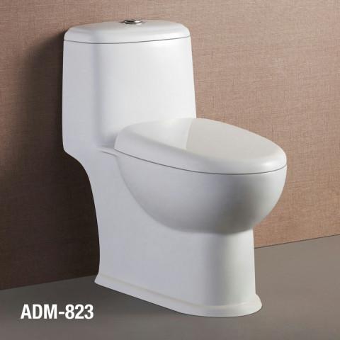 Bacia Monobloco ADM823 c/ Assento Incluso.