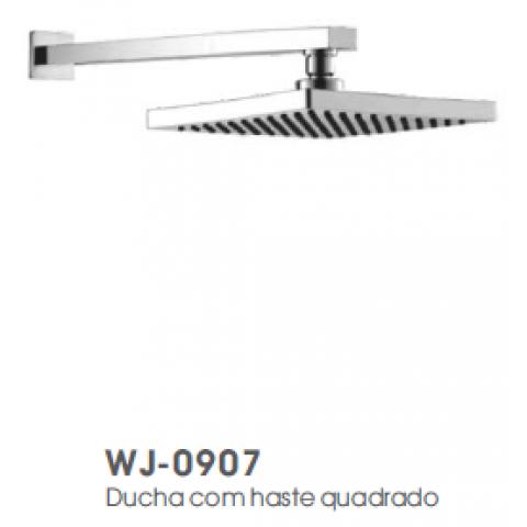 Ducha com haste quadrado WJ-0907