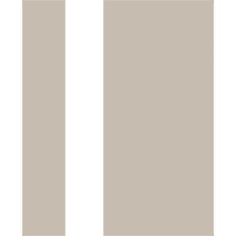 PAPEL DE PAREDE POP 10X0.52M FAIXA BRANCO/BEGE 103016 - 401301158