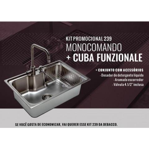 KIT PROMOCIONAL 239 MONOCOMANDO + CUBA FUNZIONALE