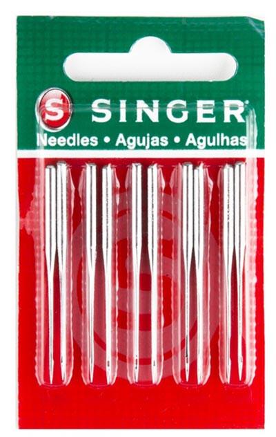 AGULHA SINGER IND 1955 CABO GROSSO C/10