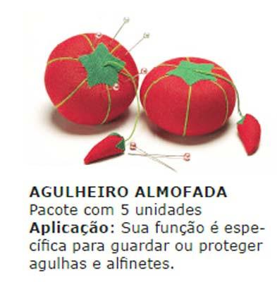 AGULHEIRO TELANIPO ALMOFADA C/5