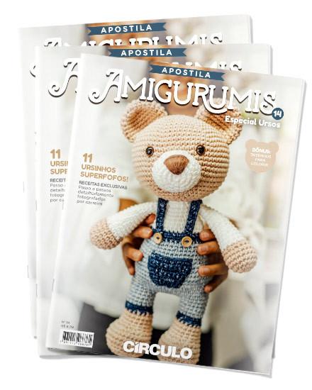 Revistas Amigurumi com Simoni Figueiredo - YouTube | 550x440