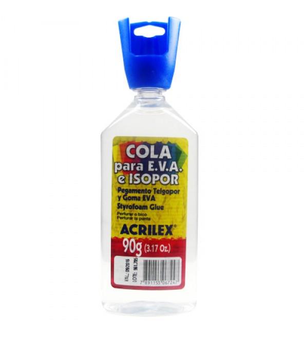 COLA ACRILEX 17390 E.V.A.E ISOPOR 3X90G