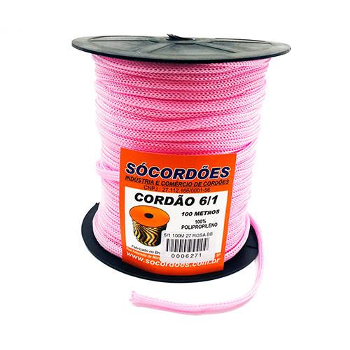 Cordao Socordoes Pp 6x1 C/100m