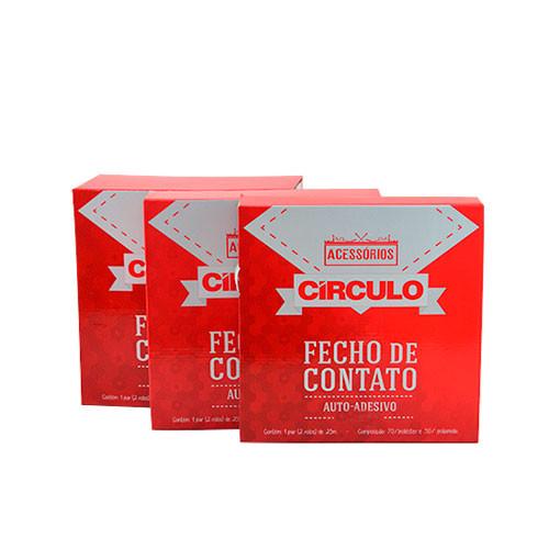FECHO CIRCULO AUTO AD.25MM 1P C/25M