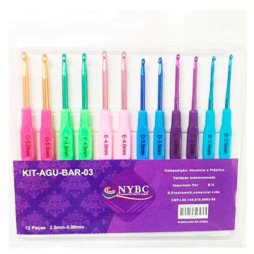 AGULHAS IMP NYBC KIT-BAR-03 PLAST C/12