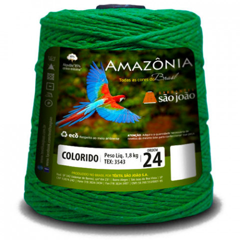 BARBANTE SAO JOAO AMAZON COR 4/24C/1000G