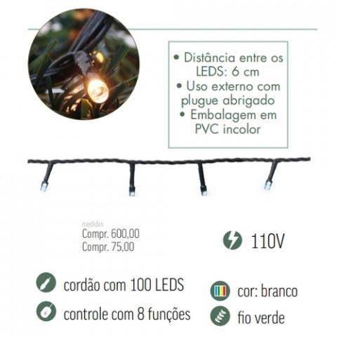 CORDAO LED CROMUS 1751209 100L BC 127V