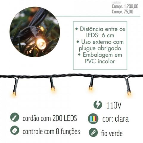 CORDAO LED CROMUS 1751223 200L MOR8F127V
