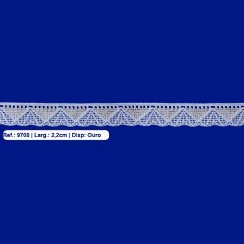 RENDA IPIRANGA CO 9708 2,0CM OU/PRAC/10M