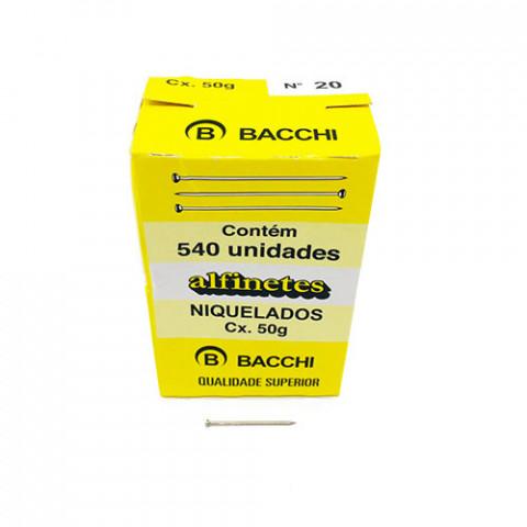 ALFINETE BACCHI ACO NIQUEL.20 C/540